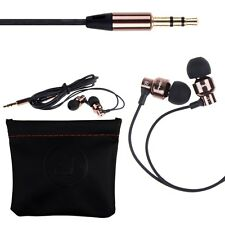 Super Stereo Bass 3.5mm Plug In-Ear Earphone Headphone For iPhone MP3 MP4 Coffee