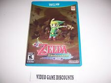 Original Box Case for Nintendo Wiiu Wii U The Legend of Zelda The Windwaker