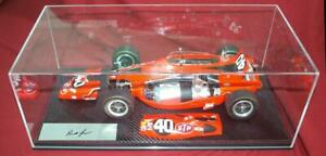 NEW REPLICARZ 1/12 #40 1967 Indy 500 Paxton Turbine SIGNED by P Jones with CASE