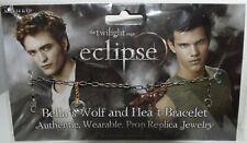 TWILIGHT: Eclipse - BELLA`S WOLF AND HEART BRACELET - Armband * NECA