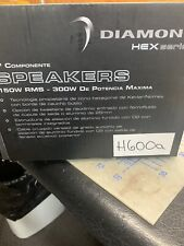 """New listing Diamond Audio H600A Pro 6.5"""" Hex Component Speakers Tweeters Mids Crossovers New"""