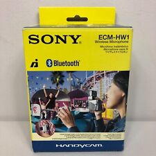 Sony ECM-HW1 Wireless Bluetooth Microphone Receiver For Handycam Camcorders New