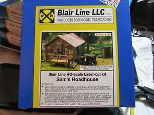 Blair Line HO Scale Sam's Roadhouse  Laser Cut Kit  #2003 Bob The Train Guy