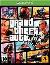 Grand Theft Auto V5 (Microsoft Xbox One, 2014) GTA
