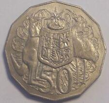 Australie, Elizabeth II, 50 Cents, 1976, TTB, Copper-nickel, Australia