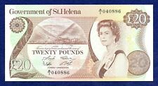 More details for st helena, 1986 twenty pounds, £20 banknote, uncirculated (ref. b1030)