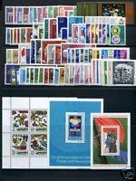 DDR Jahrgang 1973 postfrisch MNH jede MiNr 1x mit Block