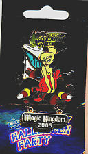 """WDW  Mickeys Not So Scary Halloween Party 2005 """"Tinker Bell"""" with Candy Pin MOC!"""