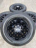 "20"" Inch Ford F-350 F-250  OEM rims wheels tires Black  2018 2019 2020"