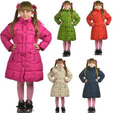 Mädchen Jacke Winterjacke Parka Mantel Daunenjacke Schnee Warm Winter 2-12 Jahre