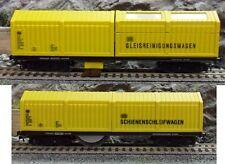 Lux-Modellbau 9630 Schienen- und Oberleitungsschleifwagen + Staubsauger H0 AC