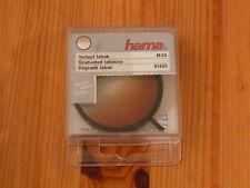 hama Verlaufsfilter tabak, M55, 81455, in Box, vor dem Objektiv drehbar