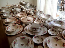 "ROYAL ALBERT ""MOSS ROSE"" Tea Set e vasellame-INGLESE BONE CHINA"