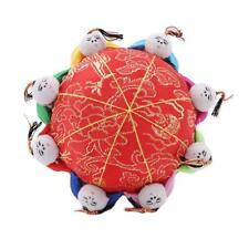 1pcs Classic Chinese Handmade Vintage Silk Pin Cushion 8 Cute Kids O3