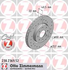 Bremsscheibe (2 Stück) SPORT-BREMSSCHEIBE COAT Z - Zimmermann 230.2369.52