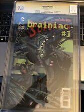 Superman # 23.2 CGC 9.8 11/13 Auto 1 x Signed by Gene Ha, Brainiac  3-D {CGCB1}