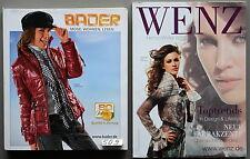 Bader Katalog Herbst/Winter 2009 und Wenz Katalog Herbst/Winter 2009 -- # 509