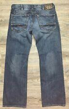 Silver ZAC Blue Jeans ~ mens size 36 x 34
