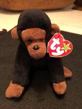 Ty Beanie Baby CONGO THE GUERRILLA 11-9-1996 Style 4160 PVC RARE ERRORS