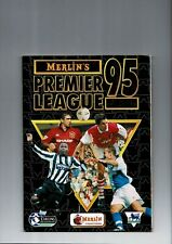 Merlin's Premier League 1995 sticker Album - Complete