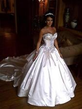 2017 Sweetheart Wedding Dress Sparkling Crystal Ball Gown Bridal Gowns Custom