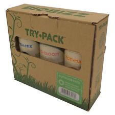 Kit de Abono / Fertilizantes 100% Bio para cultivo BioBizz Try-Pack™ (Outdoor)