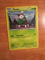 PL Pokemon SKIDDO Card BLACK STAR PROMO Set XY11 Blister Pack XY Holo PLAYED