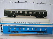 Märklin HO 4026 D-zug Gepäckwagen 112401 DB (RG/RO/044-17S2/3)