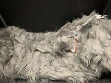 MEDIUM Pottery Barn Teen Himalayan Faux Fur GRAY BEANBAG COVER EASTER Gift NEW