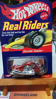 Hot Wheels Real Riders Scorchin' Scooter Moto (CP23)