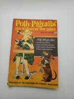 vintage 1954 Polly Pigtails' girls magazine October Halloween ed. haunted house