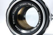 Nikon NIKKOR-S Auto50mm F1.4 Non-Ai Lens  SN579459