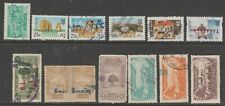 Lebanon revenue fiscal Cinderella stamps collection mix  ml440