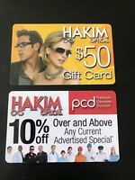 Hakim Optical $50 Gift Card AND 10% Off Card For Glasses And Sunglasses