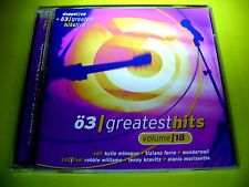 Ö3 GREATEST HITS 18 + GREATEST HITS LIVE CD - OASIS ZUCCHERO QUEEN TEXAS A-HA &&