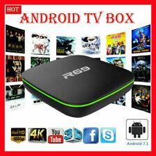 R69 ANDROID 7.1 1G/2GB 8G/16GB Smart TV BOX QUAD CORE ALLWINNER H3 WIFI 4K