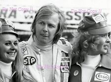 Ronnie Peterson STP March F1 Portrait British Grand Prix 1972 Photograph