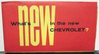 Original 1955 Chevrolet Dealer Sales Brochure Folder Bel Air Two Ten One Fifty