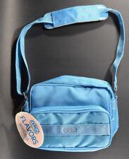 """VTG OPTEX Camera Bag """"Flavors"""" Blue slim 90's Small Retro Shoulder Purse NWT"""