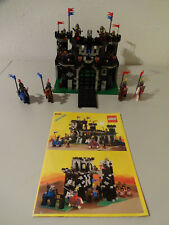 (TBS) Legoland 6085 Black Monarch`s Castle Knight with Ba 100% Complete Top