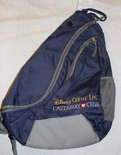New Disney Cruise Line Castaway club sling navy blue backpack