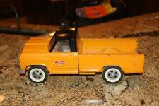 Rare Vintage Tonka Pickup Truck Orange and Black IN GOOD CONDITION