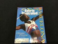 "Vintage ""Sports Illustrated"" Barcelona Olympic Preview, Jackie Joyner-Kersee 92"