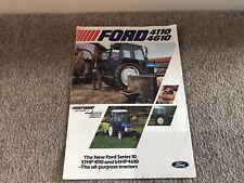 FORD Tractor 4110 4610 Leaflet Sales Brochure