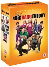 The Big Bang Theory: Seasons 1-5 DVD (2012) Johnny Galecki