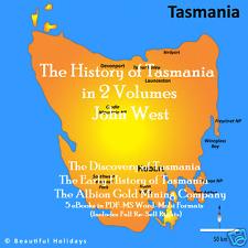 CD - The History of Tasmania - 5 eBooks