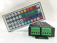 LED Controller IR Remote DC 48A 12V-24V 44Keys RGB