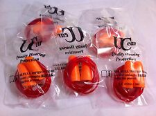 5 Pairs Corded Ear Plugs Disposable Defenders Safety