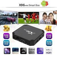 X96 Mini Amlogic S905W Quad Core WIFI HDMI 4K*2K Android7.1.2 TV Smart Box