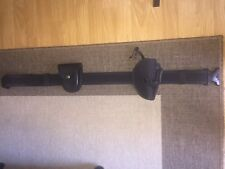 Ryno Gear Duty Belt with Accessories Size L Velcro Adjustable Nylon